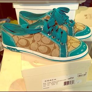 Women's Authentic Coach Sneakers.